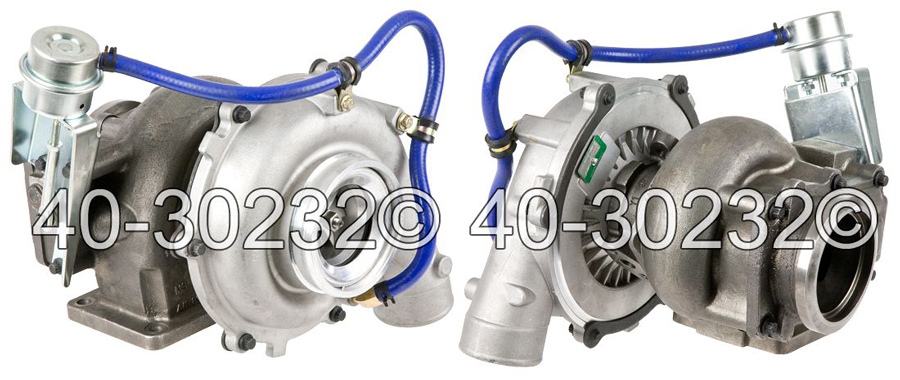2011 International All Models Navistar DT466E Engine with Garrett Number 729161-5005 Turbocharger