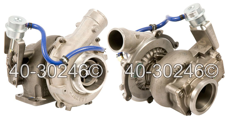 2008 International All Models Navistar DT466E Engine with Garrett Number 729161-5006 Turbocharger