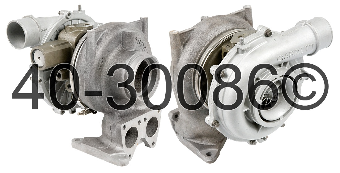 GMC Topkick 6.6L Diesel LLY Engine Turbocharger