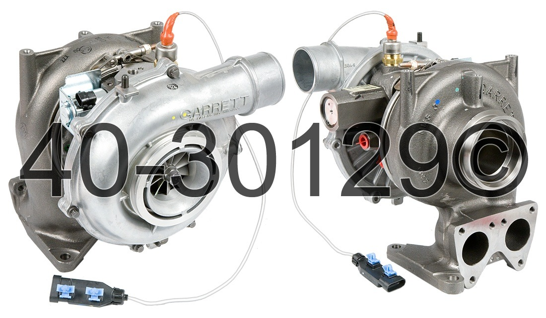 2009 GMC Topkick 6.6L Diesel LMM Engine Turbocharger