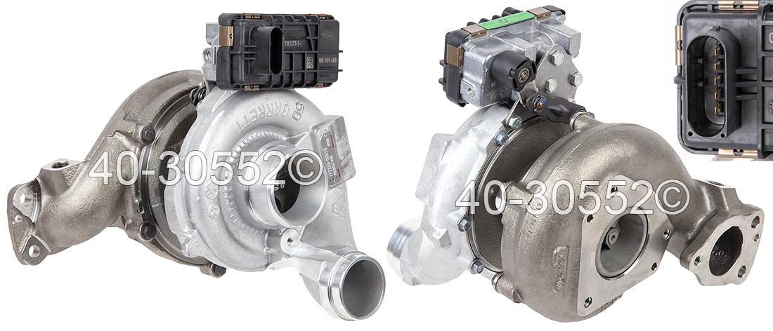 2007 Jeep Grand Cherokee 3.0L Diesel Engine Turbocharger