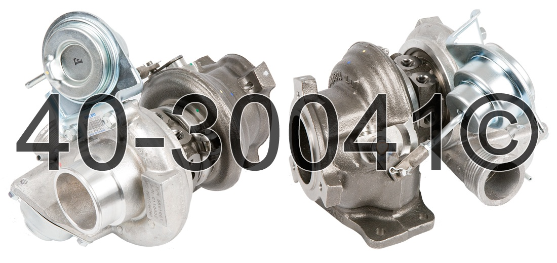 2001 Volvo S40 1.9L Engine Turbocharger