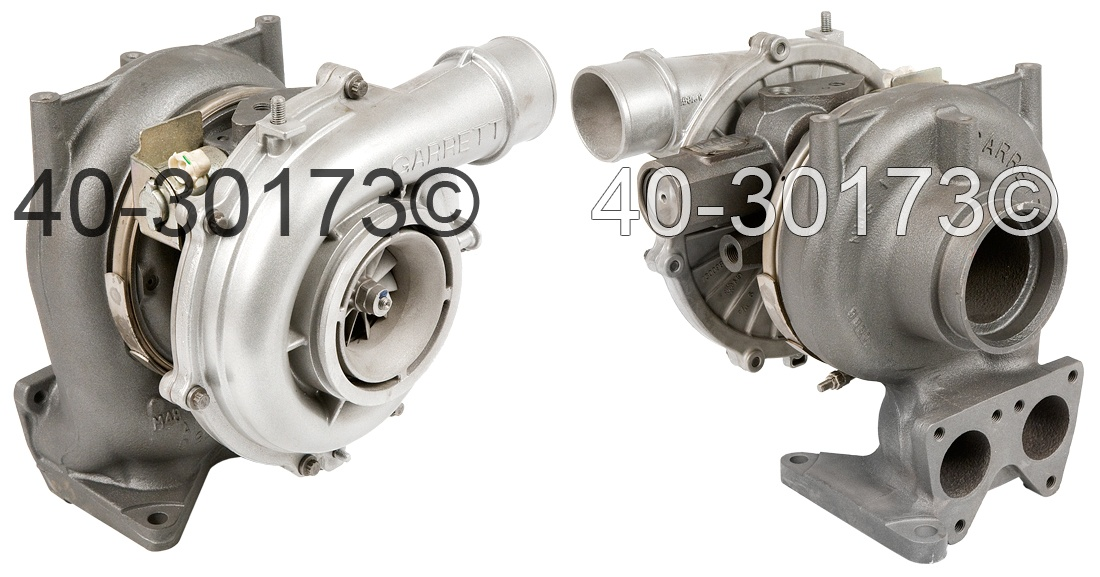 2007 GMC Sierra 6.6L Diesel LBZ Engine Turbocharger