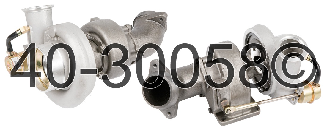 2001 Dodge Ram 5.9L Diesel - Manual Transmission Turbocharger
