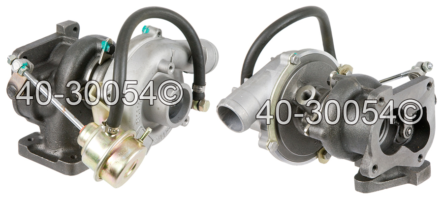 1996 Volkswagen Jetta 1.9L Diesel with Engine Code AAZ [OEM Number 028145701R] Turbocharger