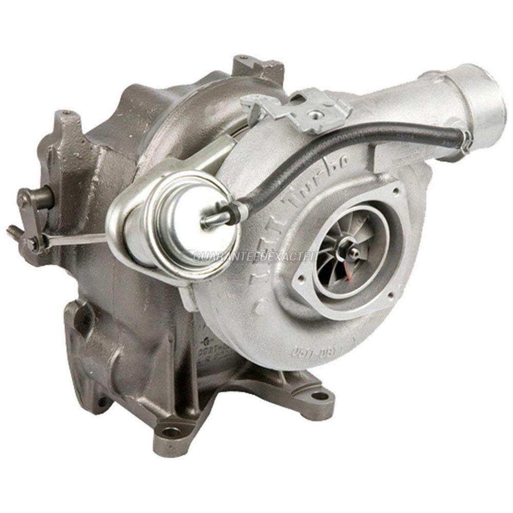 2002 Chevrolet Silverado 6.6L Diesel Duramax LB7 Engine with California Emissions Standards Turbocharger