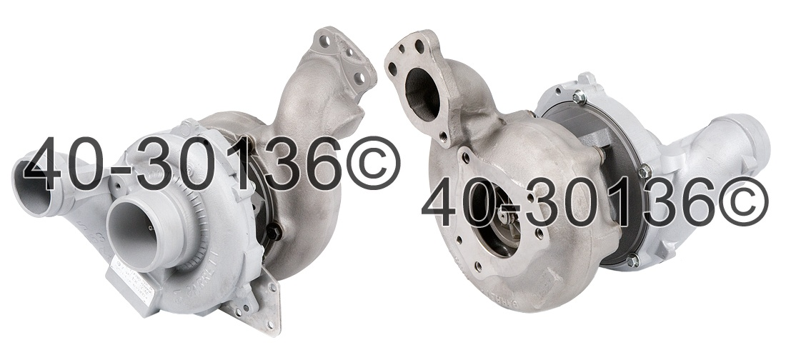 Jeep Grand Cherokee 3.0L Diesel Engine Turbocharger