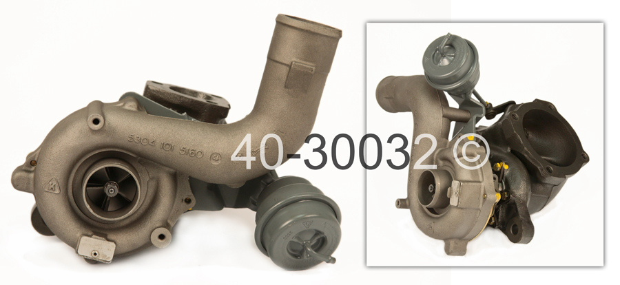 2001 Volkswagen Beetle 1.8L Gas Engine with Engine Code AWV [OEM Number 06A145704S] Turbocharger