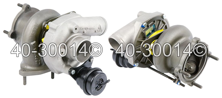 1996 Porsche 911 Right Side Turbo Turbocharger