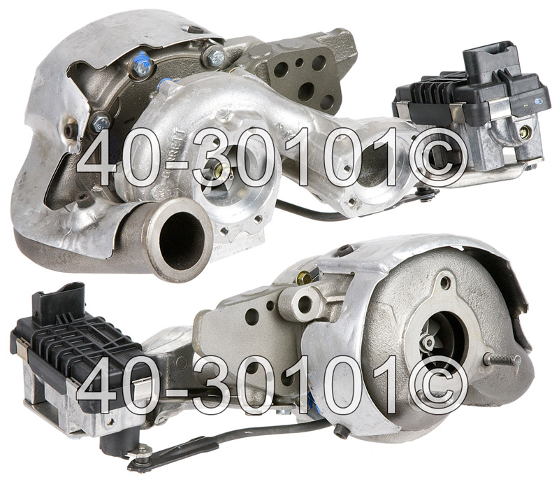 2008 Volkswagen Touareg 5.0L TDI  BKW Engine - Right Side Turbo Turbocharger