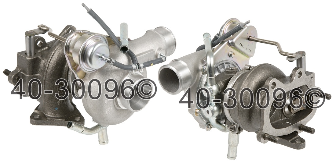 2004 Subaru WRX STI Models Turbocharger
