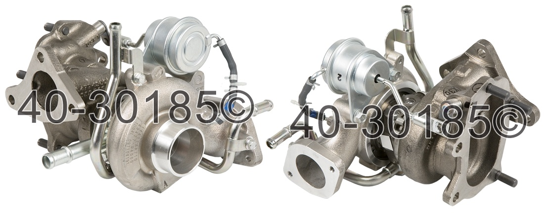 2009 Subaru Forester XT Models Turbocharger