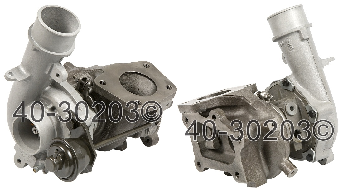 2008 Mazda 3 2.3L Turbocharged Models Turbocharger