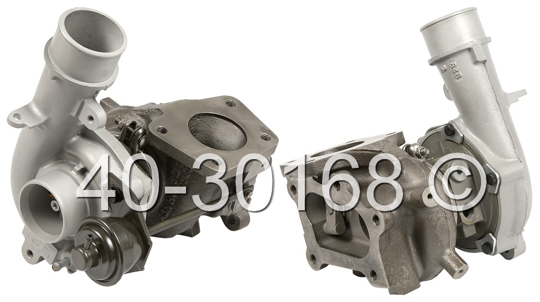 2010 Mazda CX-7 2.3L Turbocharged Model Turbocharger
