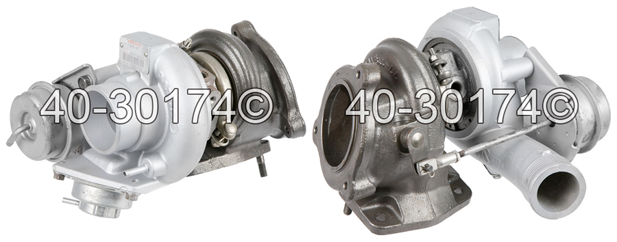 2008 Volvo S60 2.5L Engine Turbocharger