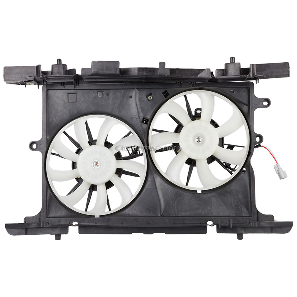 Scion xB                             Cooling Fan AssemblyCooling Fan Assembly