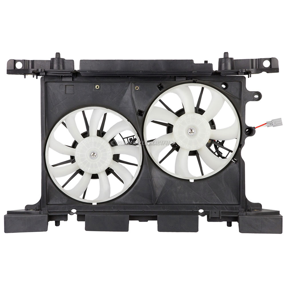 Scion tC                             Cooling Fan AssemblyCooling Fan Assembly