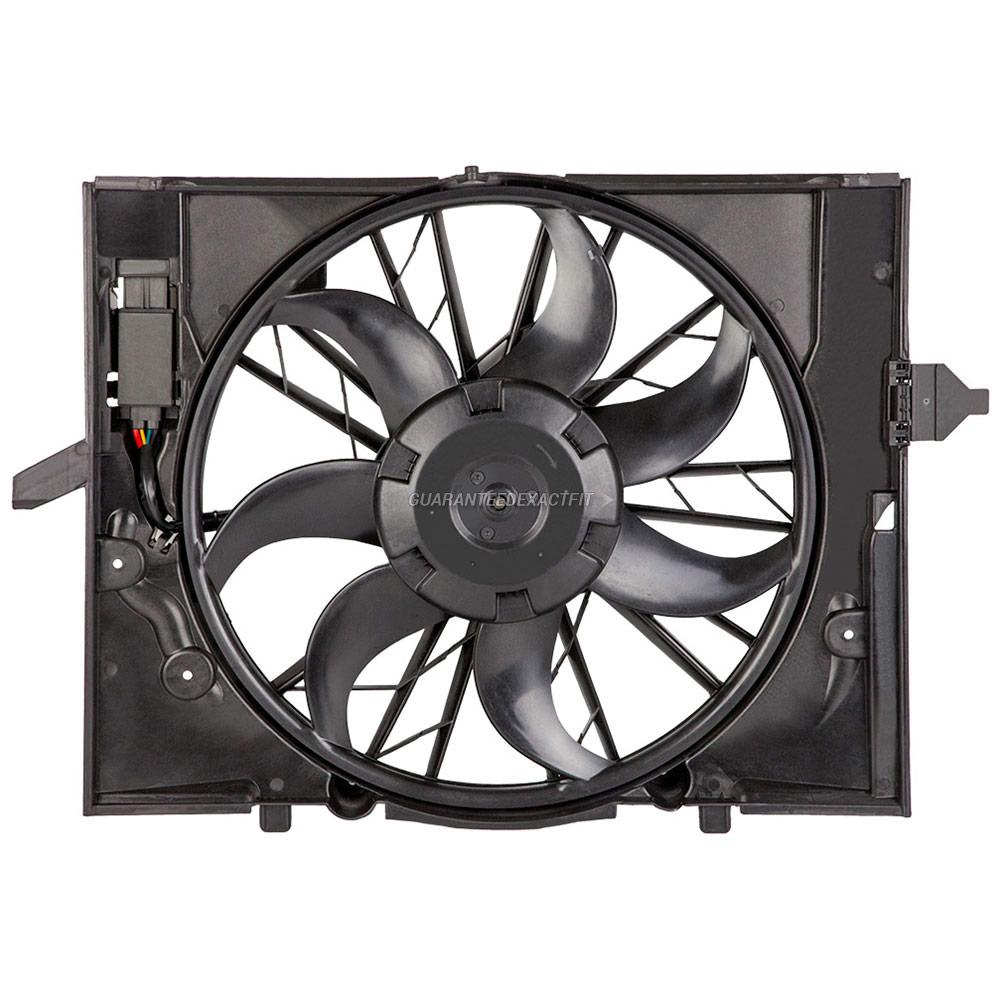 BMW 745                            Cooling Fan AssemblyCooling Fan Assembly
