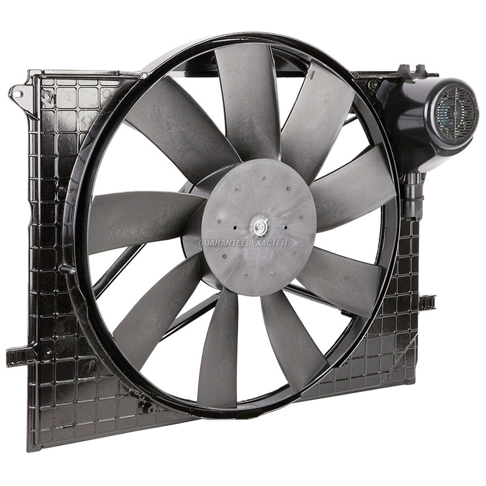 Mercedes_Benz CL55 AMG                       Cooling Fan Assembly