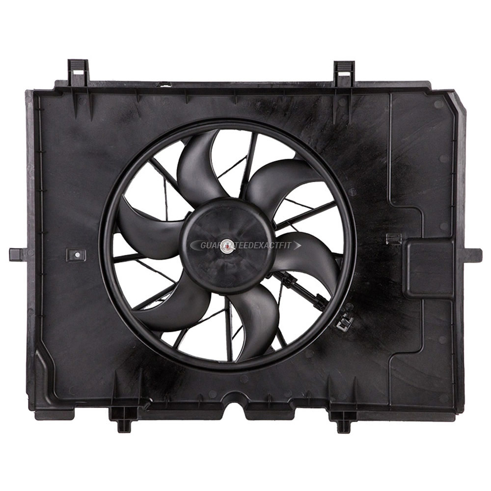 Mercedes_Benz E320                           Cooling Fan AssemblyCooling Fan Assembly
