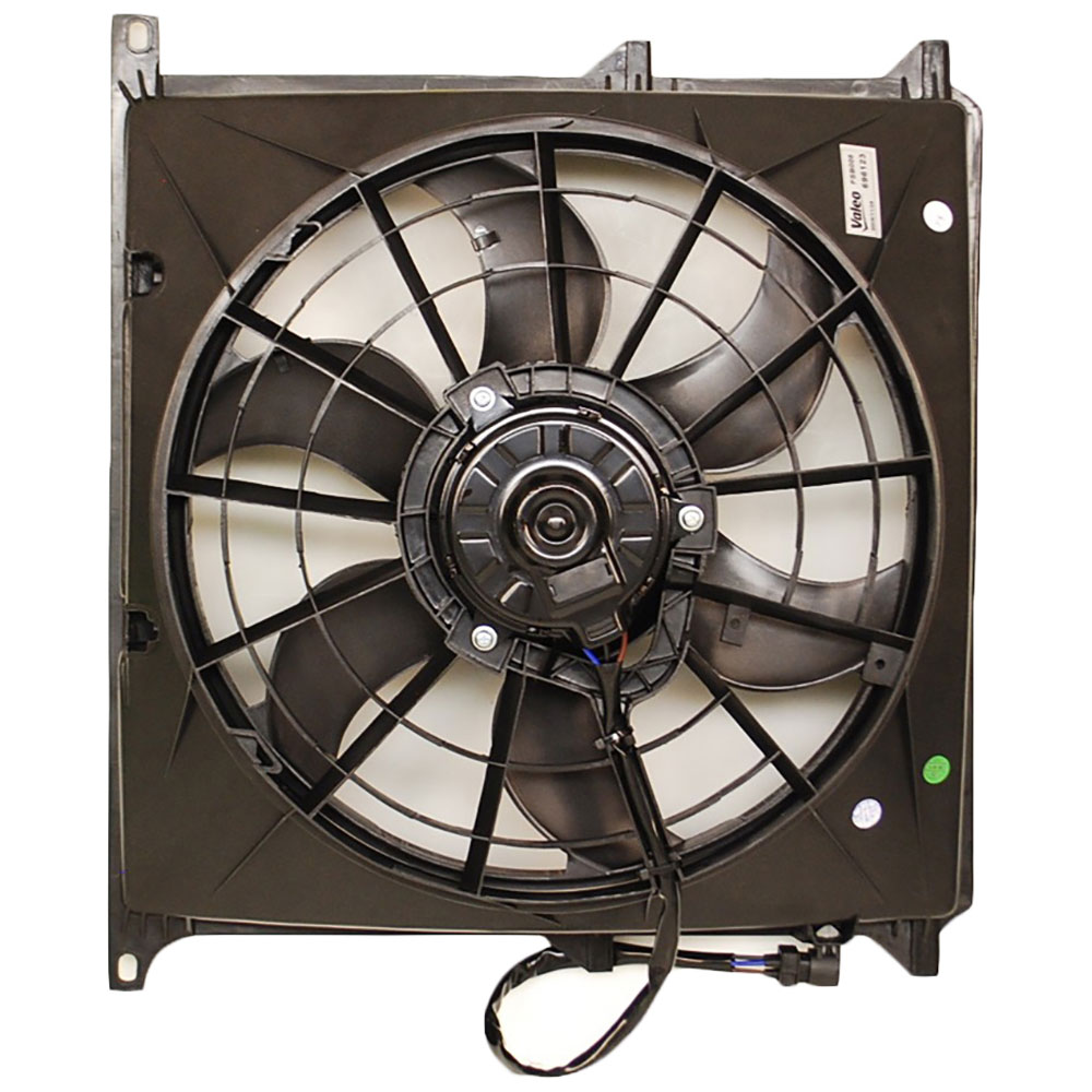 BMW Z3                             Cooling Fan AssemblyCooling Fan Assembly