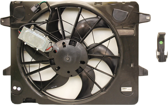 Mercury Marauder                       Cooling Fan AssemblyCooling Fan Assembly