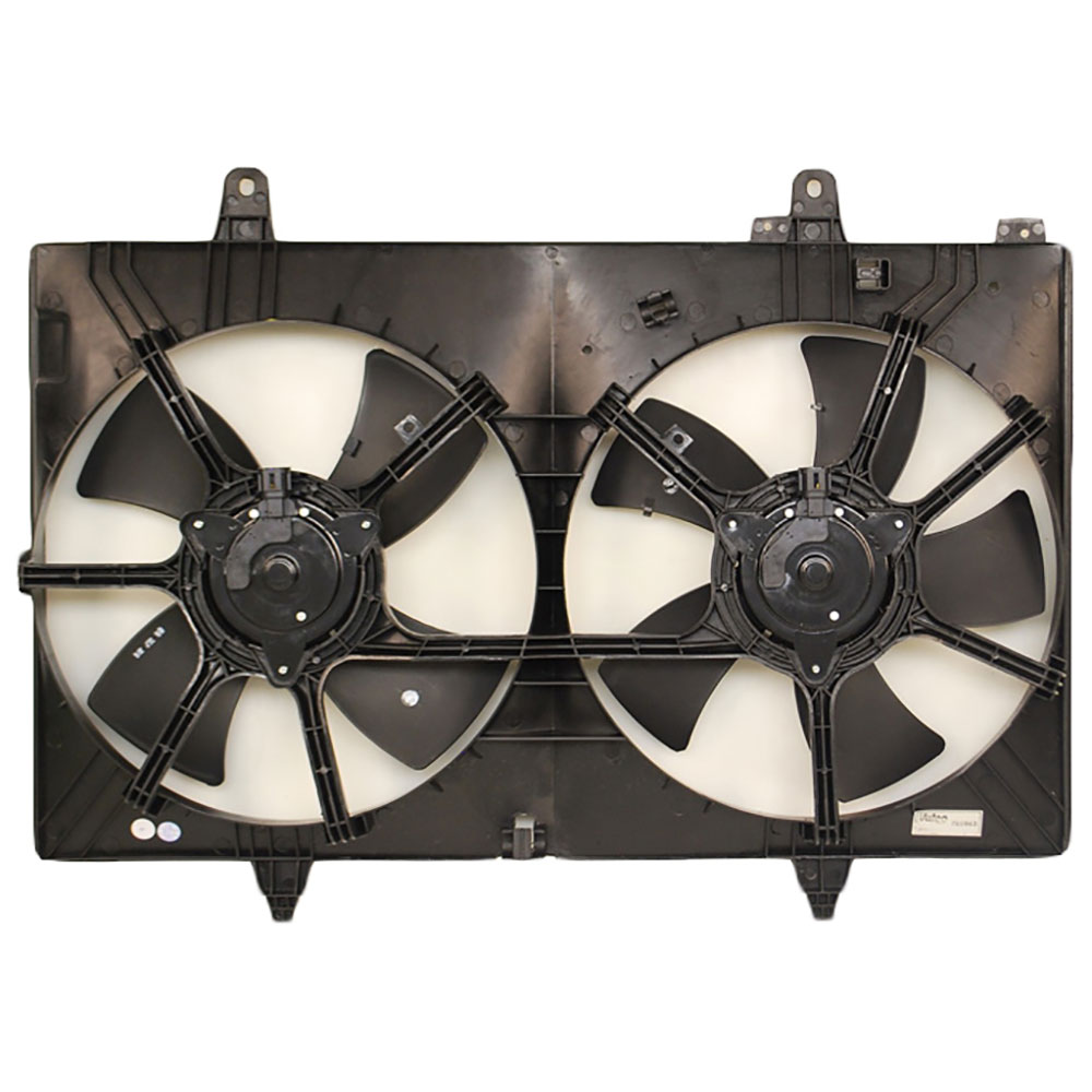 Nissan Murano                         Cooling Fan AssemblyCooling Fan Assembly