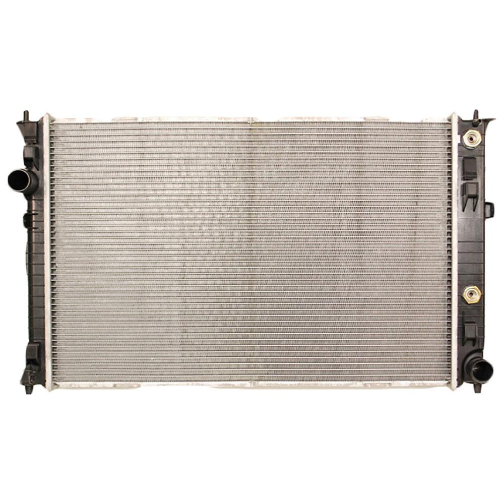 Lincoln MKZ                            RadiatorRadiator