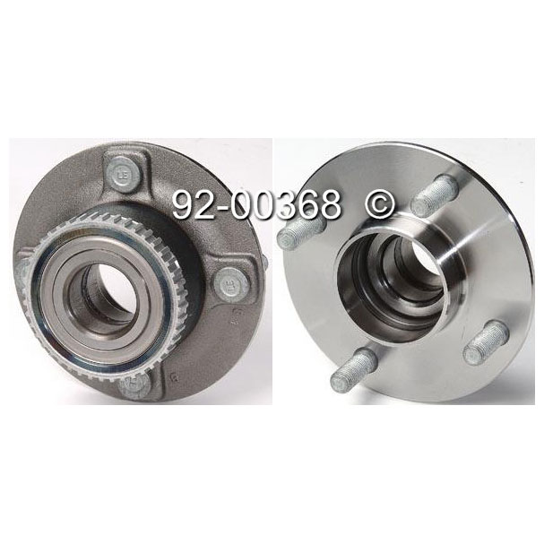 Mercury Mystique                       Wheel Hub AssemblyWheel Hub Assembly