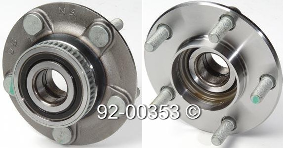 Dodge Intrepid                       Wheel Hub AssemblyWheel Hub Assembly