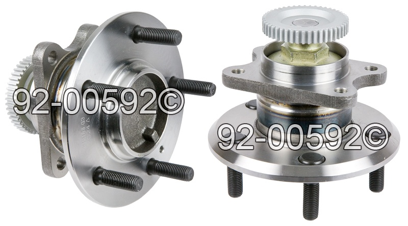 Hyundai XG350                          Wheel Hub AssemblyWheel Hub Assembly