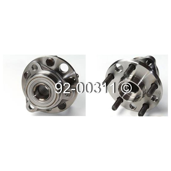 Chevrolet Beretta                        Wheel Hub AssemblyWheel Hub Assembly