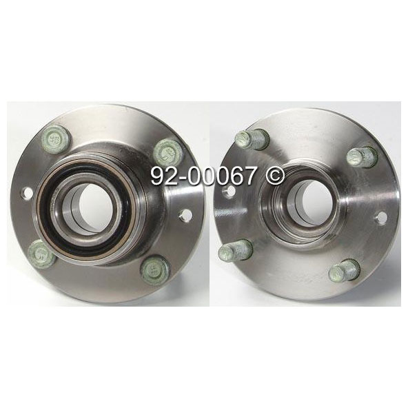 Mercury Tracer                         Wheel Hub AssemblyWheel Hub Assembly