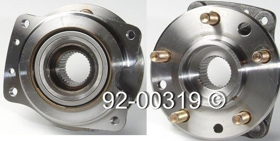 Pontiac Grand Prix                     Wheel Hub AssemblyWheel Hub Assembly