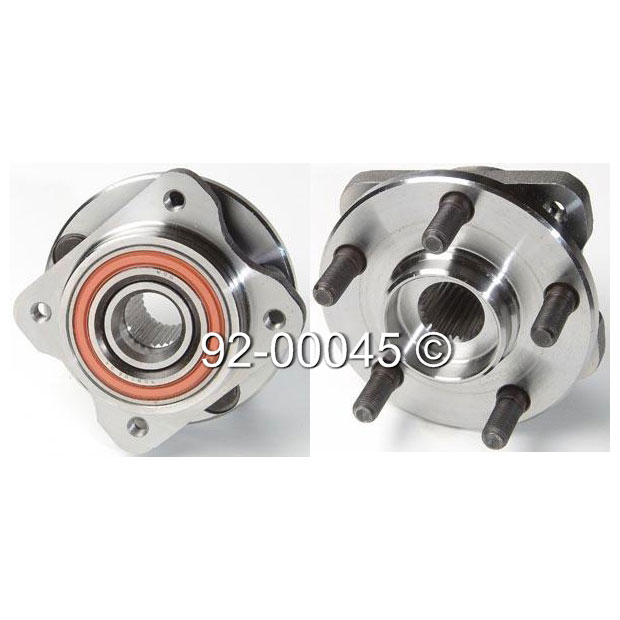 Dodge Shadow                         Wheel Hub AssemblyWheel Hub Assembly