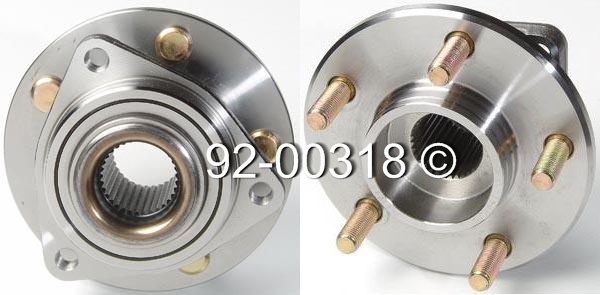 Chrysler Prowler                        Wheel Hub AssemblyWheel Hub Assembly