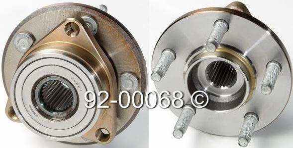 Mercury Sable                          Wheel Hub AssemblyWheel Hub Assembly