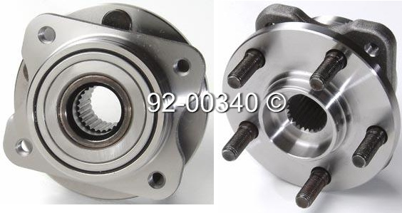 Dodge Caravan                        Wheel Hub AssemblyWheel Hub Assembly