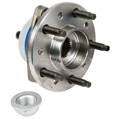 Oldsmobile Alero                          Wheel Hub AssemblyWheel Hub Assembly