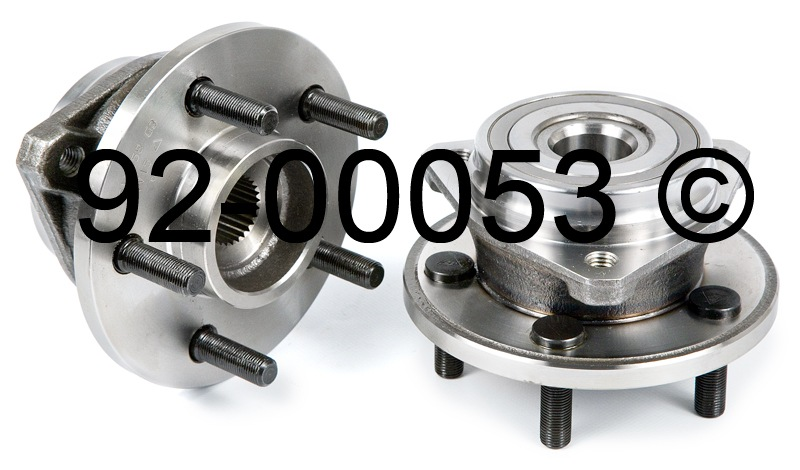 Jeep Cherokee                       Wheel Hub AssemblyWheel Hub Assembly