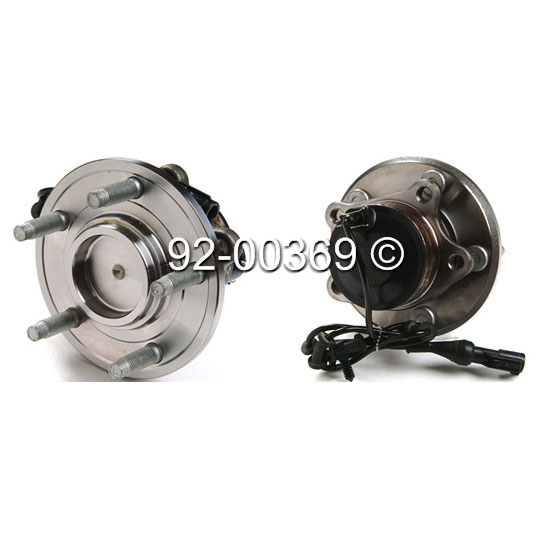 Jaguar XKR                            Wheel Hub AssemblyWheel Hub Assembly