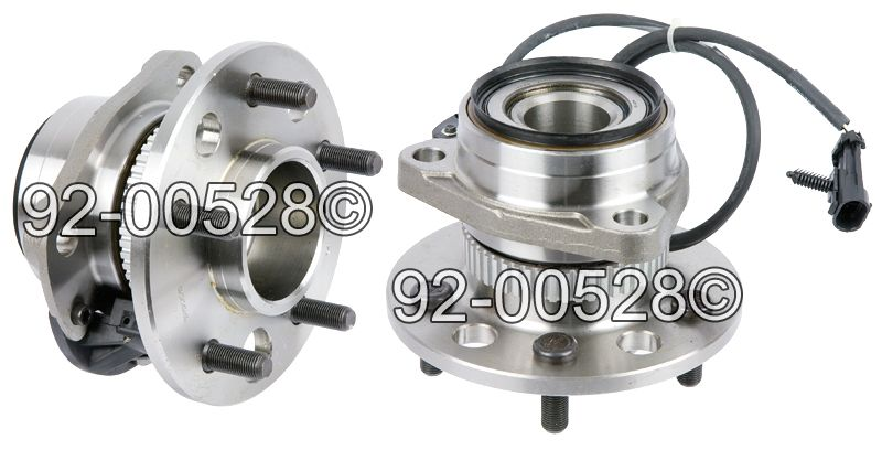 Chevrolet Astro Van                      Wheel Hub AssemblyWheel Hub Assembly