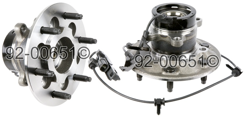 Chevrolet Colorado                       Wheel Hub AssemblyWheel Hub Assembly