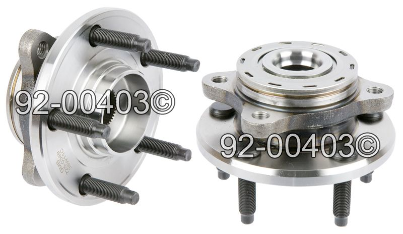 Ford Freestyle                      Wheel Hub AssemblyWheel Hub Assembly