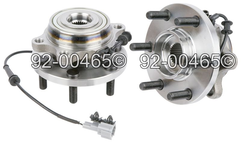 Suzuki Equator                        Wheel Hub AssemblyWheel Hub Assembly