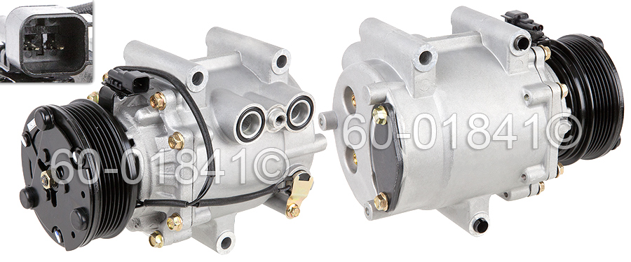 Chevrolet Equinox A/C Compressor