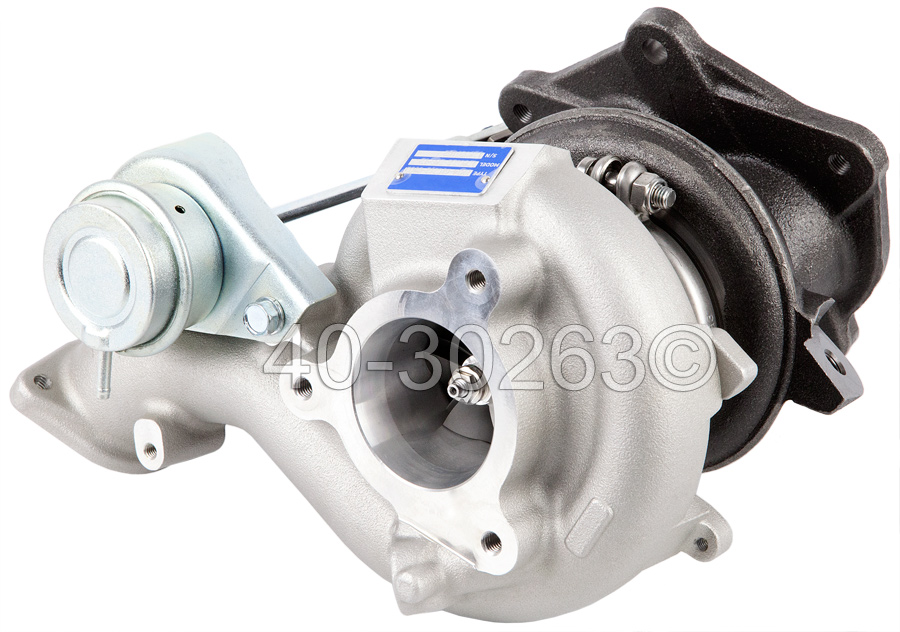 2013 Mitsubishi Lancer Evolution Model [EVO X] Turbocharger