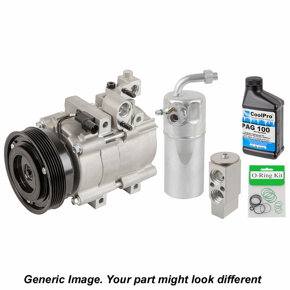 Rebuilt Auto Ac Compressors >> A C Compressor And Components Kit Oem Aftermarket Replacement Parts