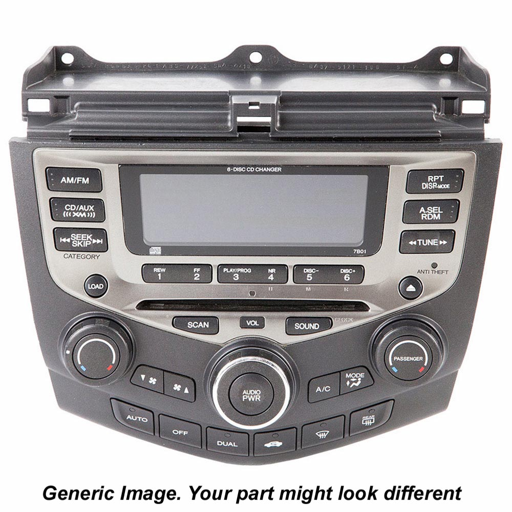 Mazda 6 Radio or CD Player