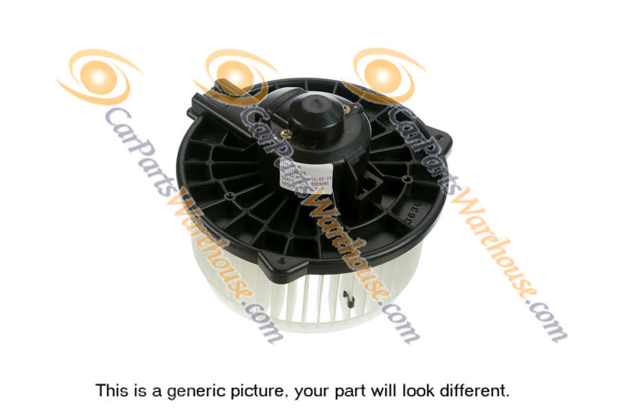 Mercedes_Benz SL600                          Blower MotorBlower Motor
